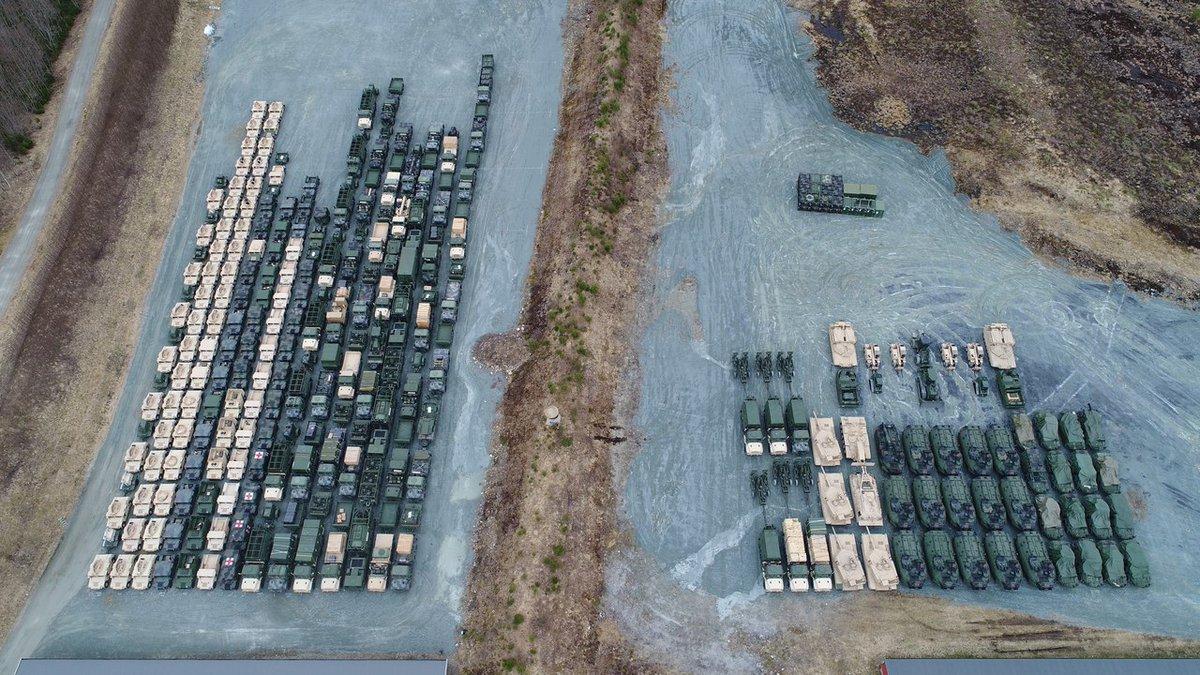 Προσομοίωση παγκόσμιου πλήγματος με διασύνδεση των ΝΑΤΟϊκών βάσεων σε Γερμανία-ΗΠΑ-Βρετανία – Τεράστιες ποσότητες οπλισμού μεταφέρονται σε γερμανικό έδαφος – Ανοιξαν οι αποθήκες όπλων μέχρι και στη Νορβηγία (βίντεο, εικόνες) - Εικόνα2