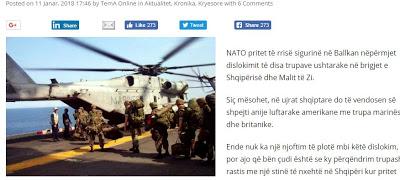 «Κυνήγι του Καρχαρία» από στρατεύματα του ΝΑΤΟ στην Αλβανία… - Εικόνα1