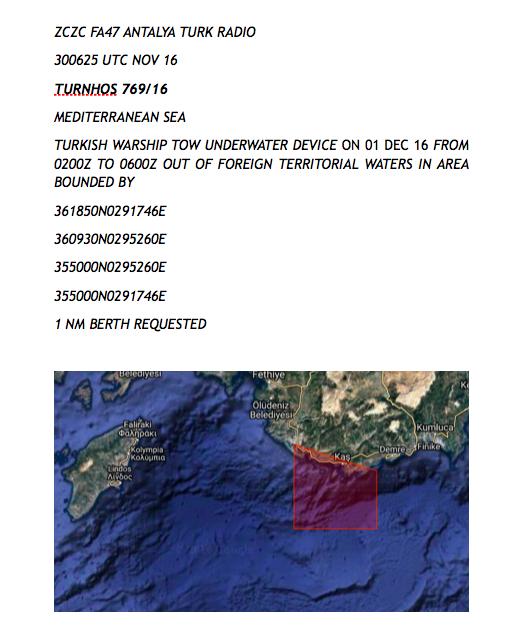 """""""Φουλ"""" για κρίση στο Αιγαίο! NAVTEX πρόκληση των Τούρκων που """"σβήνει"""" το Καστελόριζο από το χάρτη - Εικόνα0"""