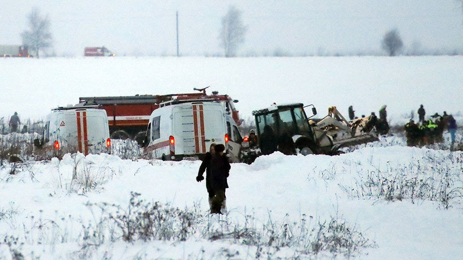 Αεροπορική τραγωδία στη Ρωσία: Αναζητούν στο χιόνι τα αίτια της συντριβής - Εικόνα 1