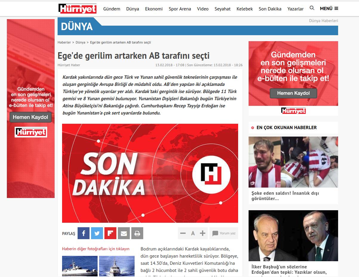 Η Αγκυρα κλιμακώνει την ένταση: «Τα Ιμια ανήκουν στην Τουρκία» - Εικόνα8
