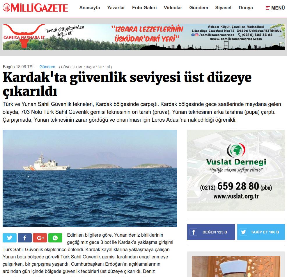 Η Αγκυρα κλιμακώνει την ένταση: «Τα Ιμια ανήκουν στην Τουρκία» - Εικόνα9