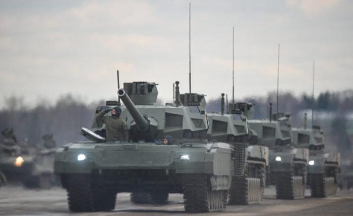 Ο αιφνιδιασμός που αλλάζει όλα τα δεδομένα παγκοσμίως: Το Τ-14 «ΑRMATA» θα εκτοξεύει πυραύλους με πυρηνική κεφαλή – Oι ρωσικές τεθωρακισμένες μεραρχίες μετατρέπονται σε προκεχωρημένες χερσαίες πλατφόρμες εκτόξευσης πυρηνικών όπλων! - Εικόνα0