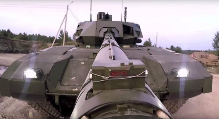 Ο αιφνιδιασμός που αλλάζει όλα τα δεδομένα παγκοσμίως: Το Τ-14 «ΑRMATA» θα εκτοξεύει πυραύλους με πυρηνική κεφαλή – Oι ρωσικές τεθωρακισμένες μεραρχίες μετατρέπονται σε προκεχωρημένες χερσαίες πλατφόρμες εκτόξευσης πυρηνικών όπλων! - Εικόνα2