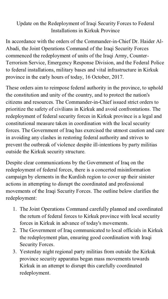Τι ακριβώς συμβαίνει στο Κιρκούκ; Ποιος Κούρδος παράγοντας απέσυρε τις δυνάμεις του από το μέτωπο και γιατί; - Εικόνα6