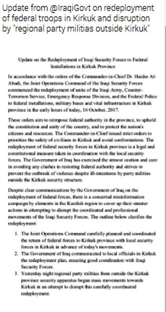 Τι ακριβώς συμβαίνει στο Κιρκούκ; Ποιος Κούρδος παράγοντας απέσυρε τις δυνάμεις του από το μέτωπο και γιατί; - Εικόνα9