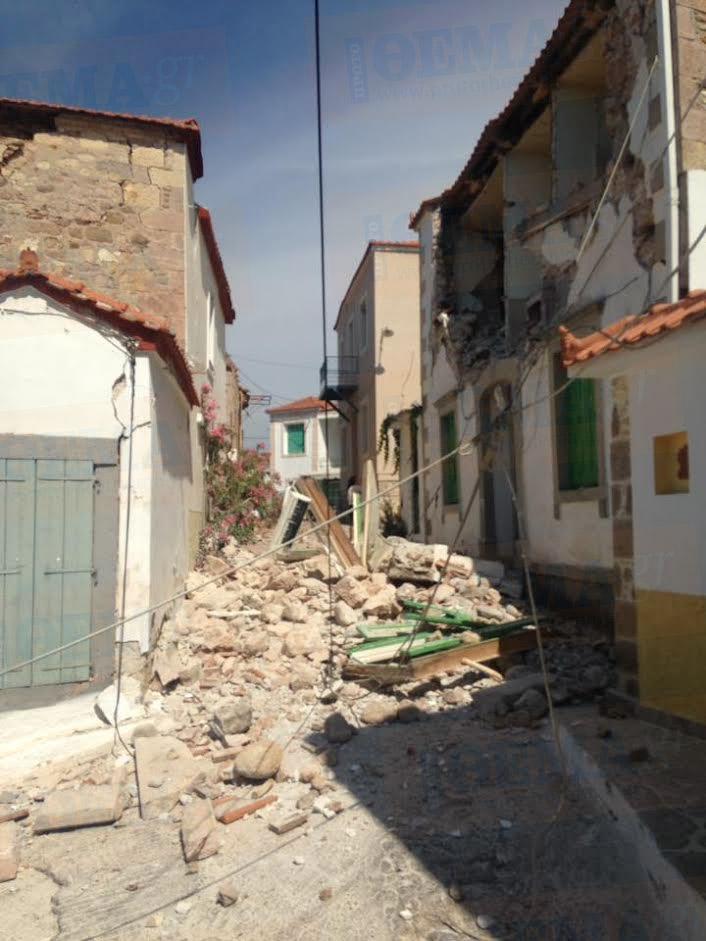 Alert! Δέκα τραυματίες από τον σεισμό των 6,1 Ρίχτερ στη Λέσβο - Εικόνα 0