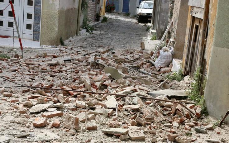 Alert! Δέκα τραυματίες από τον σεισμό των 6,1 Ρίχτερ στη Λέσβο - Εικόνα 1