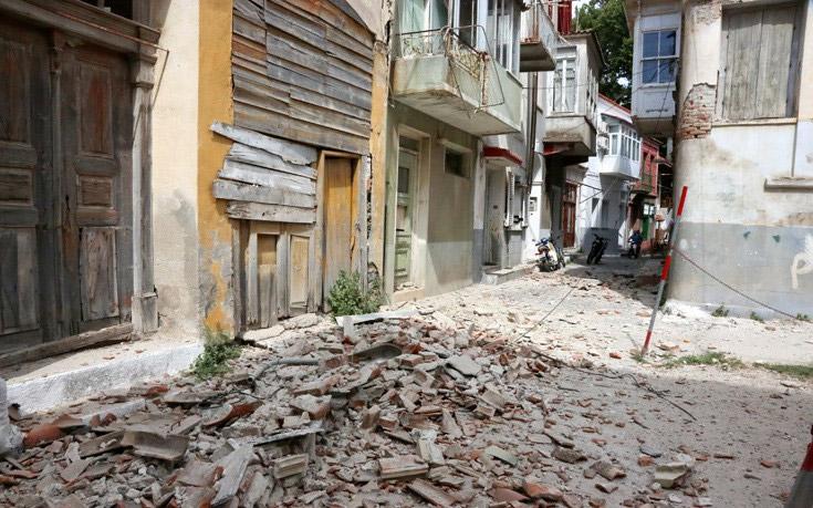 Alert! Δέκα τραυματίες από τον σεισμό των 6,1 Ρίχτερ στη Λέσβο - Εικόνα 8