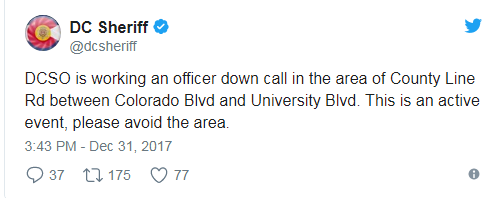 Alert! Πολλοί αστυνομικοί τραυματίες σε πυροβολισμούς στο Ντένβερ των ΗΠΑ - Εικόνα 0