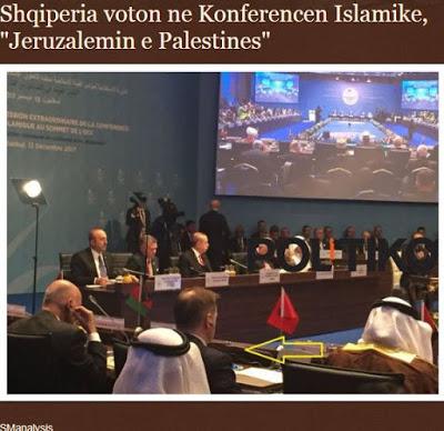 Η Αλβανία ψήφισε στην Ισλαμική Διάσκεψη: Η Ιερουσαλήμ πρωτεύουσα της Παλαιστίνης - Εικόνα1