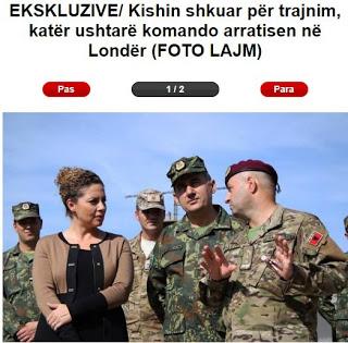 Αλβανικός Στρατός:  …Λιποτάκτησαν κομάντο που  πήγαν για εκπαίδευση στο Λονδίνο! - Εικόνα1
