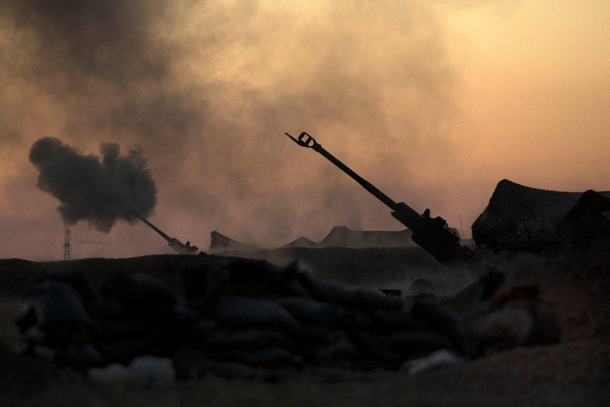 Το Αμερικανικό πυροβολικό στοχεύει Τούρκους: Επιστράτευση και επίθεση κατά των τουρκικών δυνάμεων σε Azaz- Jarablus ανακοίνωσαν οι Κούρδοι – «Στέρεψε» ο ποταμός Ευφράτης -Εικόνες - Εικόνα8
