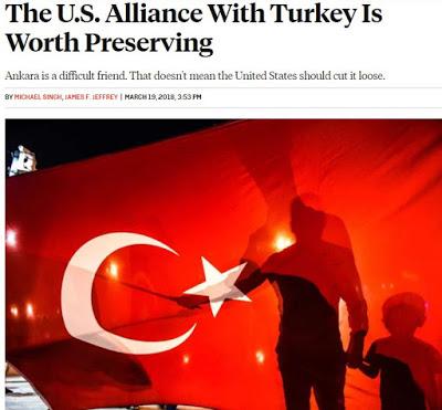 Αμερικανός διπλωμάτης: Οι ΗΠΑ δεν πρέπει να εγκαταλείψουν τη συμμαχία με την Τουρκία - Εικόνα0