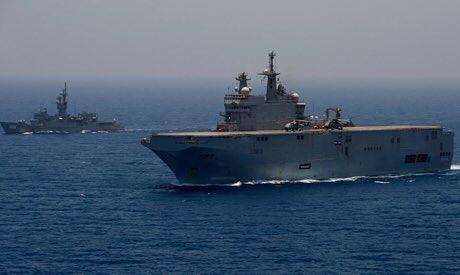 Απέπλευσε για τη Μεσόγειο και ο Στόλος της Αιγύπτου: Τα κανόνια έξι χωρών έτοιμα να ανοίξουν πυρ εναντίον του τουρκικού Στόλου – Δείτε βίντεο - Εικόνα1
