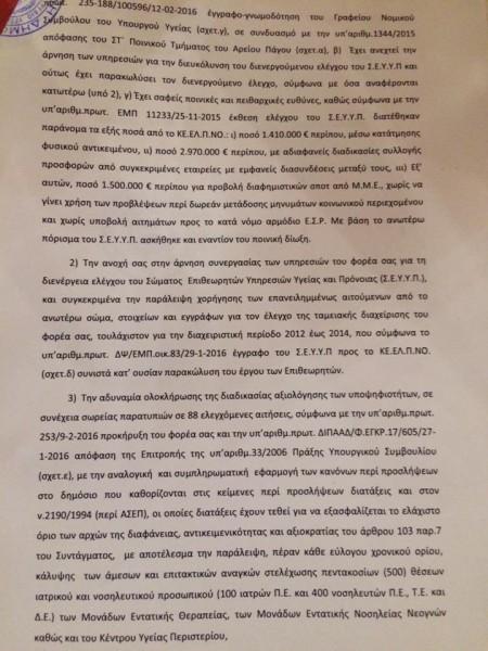 ΑΠΙΣΤΕΥΤΟ! Ξανθός και Πολάκης αποκεφαλίζουν το Δ.Σ. του ΚΕΕΛΠΝΟ αφού δεν …υπάκουσε στις υποδείξεις τους! - Εικόνα3