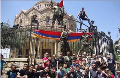 Οι Αρμένιοι της Συρίας πολεμούν με το στρατό του Μπασάρ Άσαντ - Εικόνα1