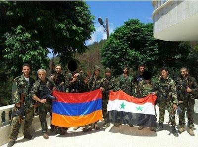 Οι Αρμένιοι της Συρίας πολεμούν με το στρατό του Μπασάρ Άσαντ - Εικόνα2