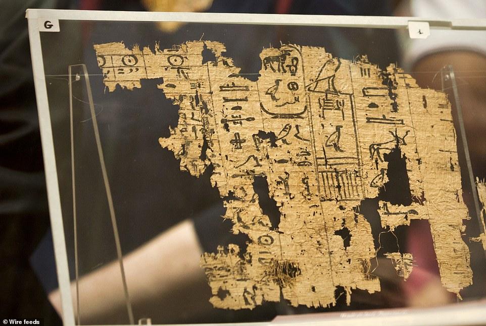 Αρχαίος πάπυρος 4.500 ετών περιγράφει με λεπτομέρειες την κατασκευή της Μεγάλης Πυραμίδας - Εικόνα0