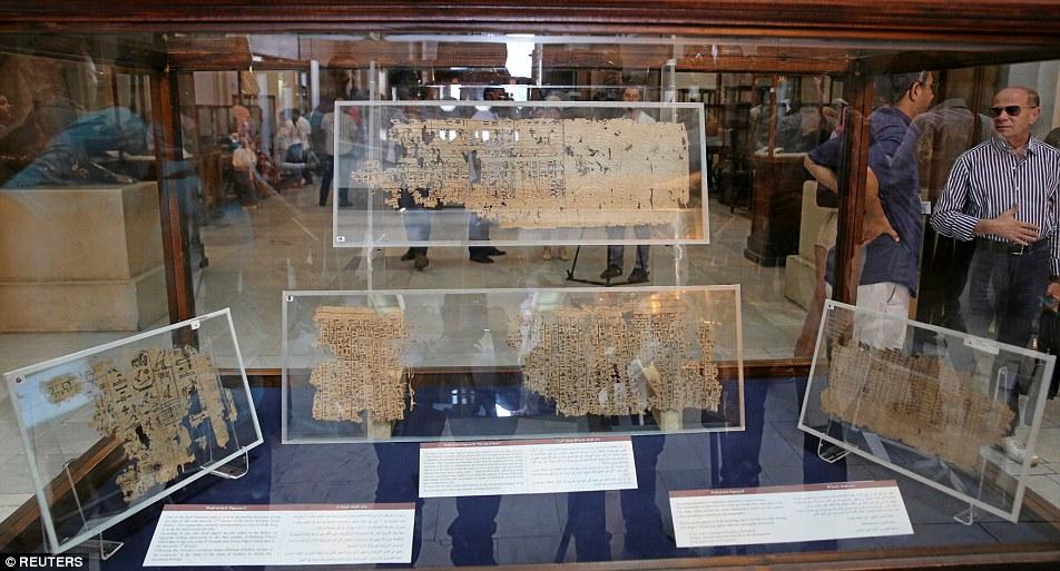Αρχαίος πάπυρος 4.500 ετών περιγράφει με λεπτομέρειες την κατασκευή της Μεγάλης Πυραμίδας - Εικόνα1