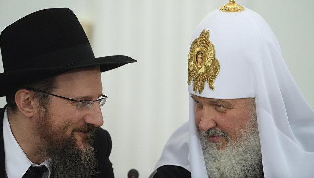 Ο Αρχιραβίνος της Ρωσίας «πιέζει» το B .Πούτιν για την διεξαγωγή διεθνούς διαθρησκειακού φόρουμ στην Μόσχα – O Ρώσος ηγέτης λέει «όχι» στην προώθηση της νεοταξίτικης πανθρησκείας - Εικόνα0