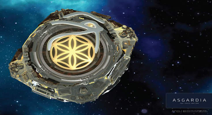 Asgardia: Δημιουργήθηκε το πρώτο διαστημικό «έθνος» με το σύμβολο των Ιλλουμινάτι - Εικόνα0