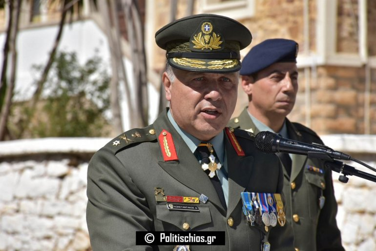 Άστραψε και βρόντηξε ο ταξίαρχος διοικητής της 96 ΑΔΤΕ στη Χίο: «Τολμήστε… – Θα καταστρέψουμε κάθε επίδοξο επιβουλέα των ιερών χωμάτων» - Εικόνα1