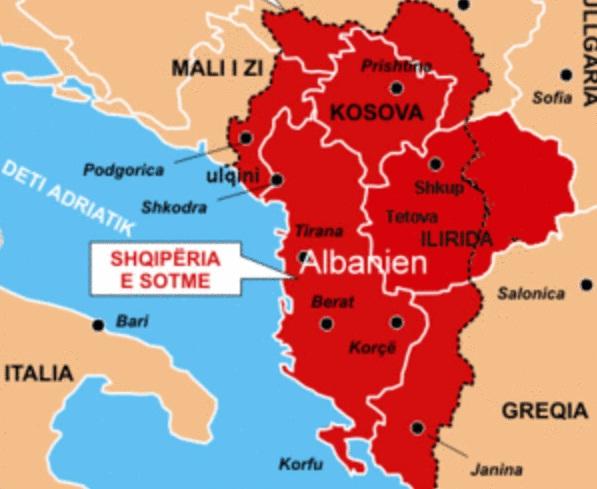 Aσχημες εξελίξεις: Συρρέουν κατά εκατοντάδες UCKάδες στη ΠΓΔΜ – Υψώθηκε η αλβανική σημαία στο ψηλότερο κτίριο της πόλης Πρίλεπ – Αλβανικός τύπος: «Φρίκαραν οι Έλληνες με την ιδέα της «Μεγάλης Αλβανίας! - Εικόνα2
