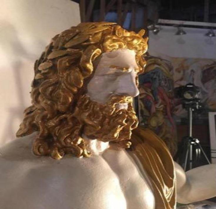 Ο Δίας επιστρέφει στον θρόνο του: Ξαναφτιάχνουν το Χρυσελεφάντινο Άγαλμα του Ολυμπίου Διός - Εικόνα1