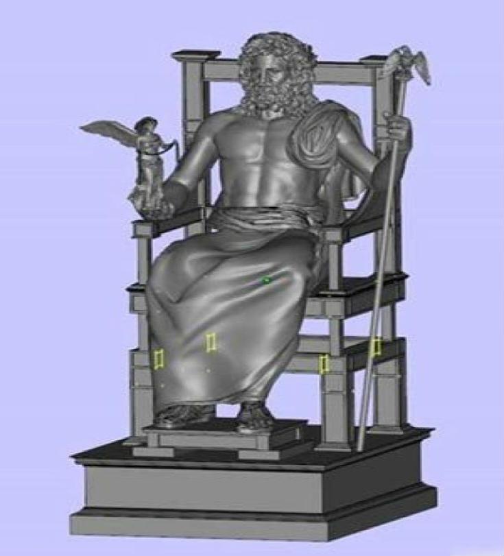 Ο Δίας επιστρέφει στον θρόνο του: Ξαναφτιάχνουν το Χρυσελεφάντινο Άγαλμα του Ολυμπίου Διός - Εικόνα2