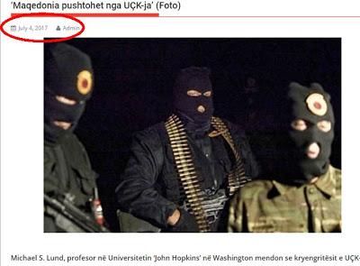 Δημοσιεύματα Αλβανών για UCK  και κατά των Σκοπίων - Εικόνα2