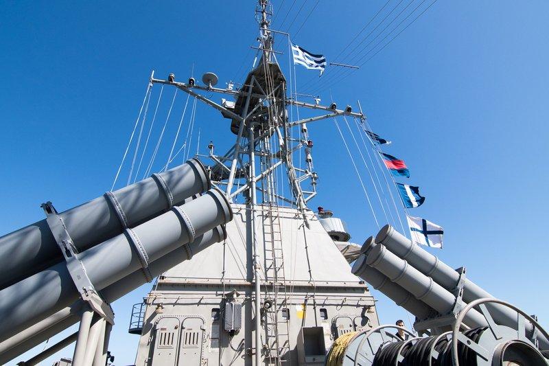 Δύναμη πυρός από το Πολεμικό Ναυτικό -Φρεγάτες, πυραυλάκατοι και υποβρύχια στο Μυρτώο Πέλαγος [εικόνες] - Εικόνα2
