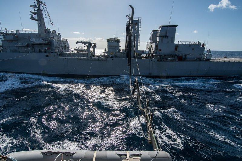 Δύναμη πυρός από το Πολεμικό Ναυτικό -Φρεγάτες, πυραυλάκατοι και υποβρύχια στο Μυρτώο Πέλαγος [εικόνες] - Εικόνα5