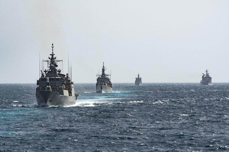 Δύναμη πυρός από το Πολεμικό Ναυτικό -Φρεγάτες, πυραυλάκατοι και υποβρύχια στο Μυρτώο Πέλαγος [εικόνες] - Εικόνα6