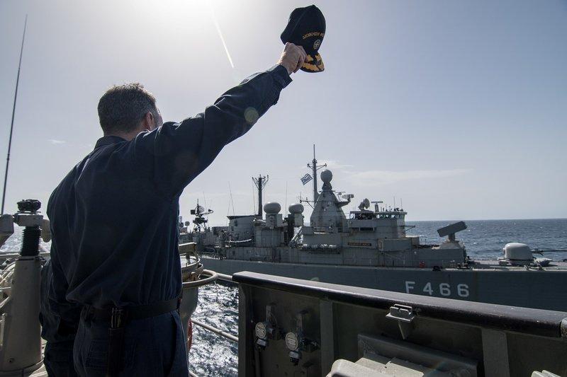 Δύναμη πυρός από το Πολεμικό Ναυτικό -Φρεγάτες, πυραυλάκατοι και υποβρύχια στο Μυρτώο Πέλαγος [εικόνες] - Εικόνα7