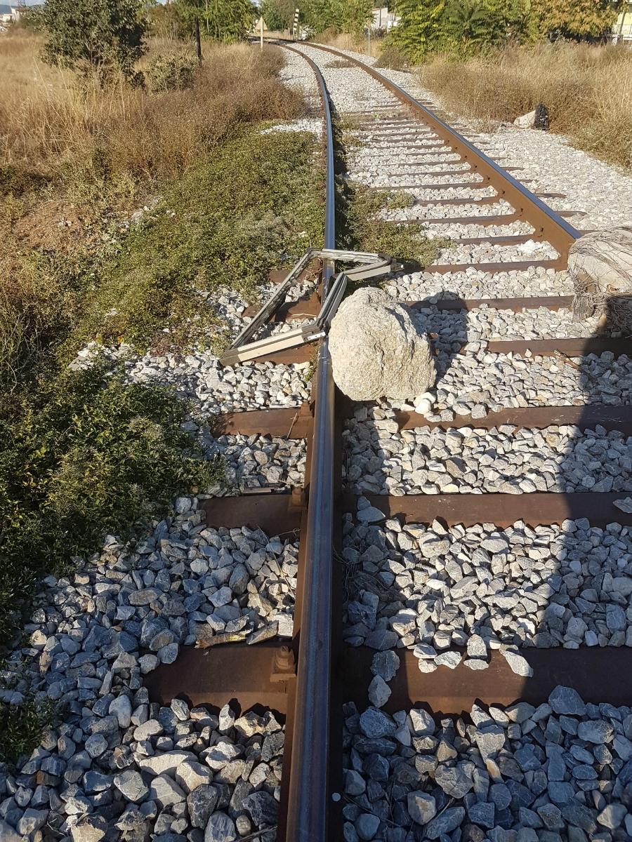 Δολιοφθορά στο σιδηροδρομικό δίκτυο στον Έβρο-Από ποιους όμως και γιατί; – Δείτε εικόνες - Εικόνα1