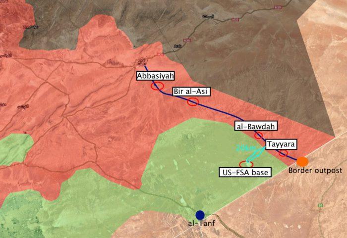 Δράμα: Ιρανοί, Ρώσοι και συριακός Στρατός περικύκλωσαν τους Αμερικανούς στη Ν.Συρία – Οι ΗΠΑ μετακίνησαν πυραύλους HIMARS στο Al Tanf και μια νέα μάχη ξεκινά - Εικόνα1