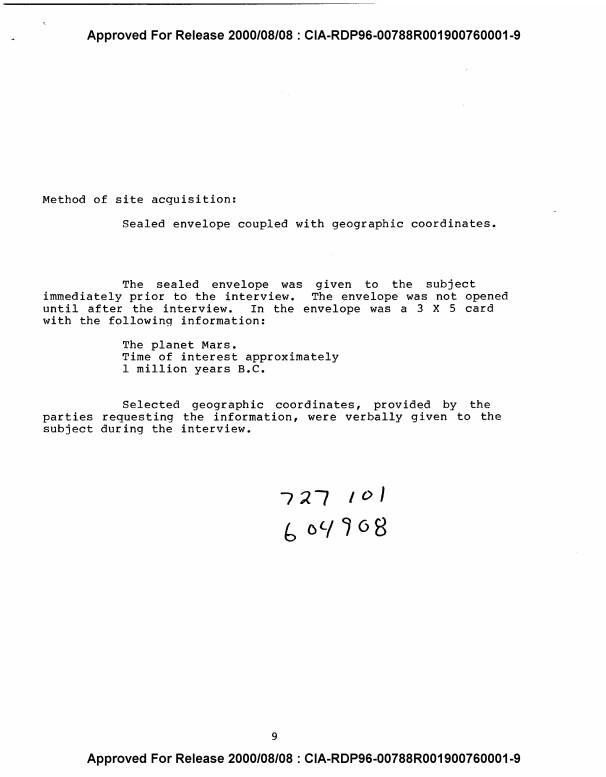 ΕΓΓΡΑΦΟ της CIA για ΟΝΤΑ που ΚΑΤΟΙΚΟΥΝ στον ΆΡΗ (video) - Εικόνα2