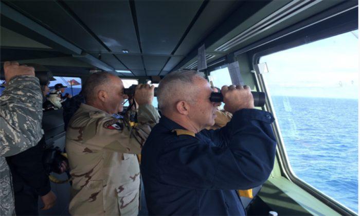 EKTAKTH ΕΙΔΗΣΗ: Σε θέση μάχης το ΠΝ της Αιγύπτου – Σκάφη και υποβρύχια απέναντι από τον τουρκικό στόλο – Παίρνει «φωτιά» η Μεσόγειος - Εικόνα0