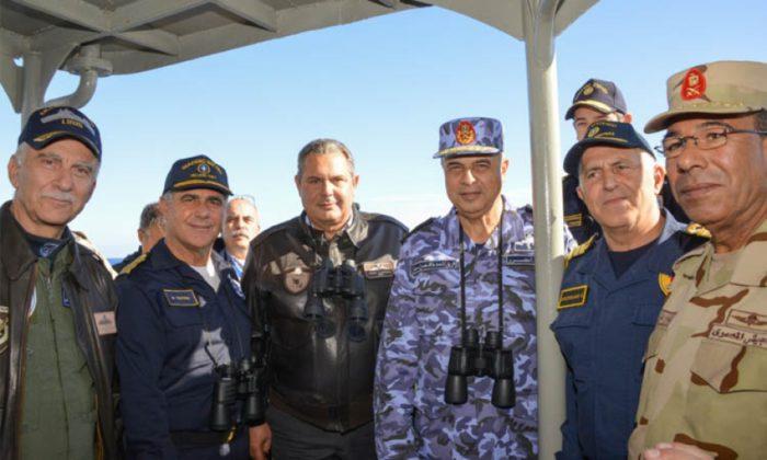 EKTAKTH ΕΙΔΗΣΗ: Σε θέση μάχης το ΠΝ της Αιγύπτου – Σκάφη και υποβρύχια απέναντι από τον τουρκικό στόλο – Παίρνει «φωτιά» η Μεσόγειος - Εικόνα1