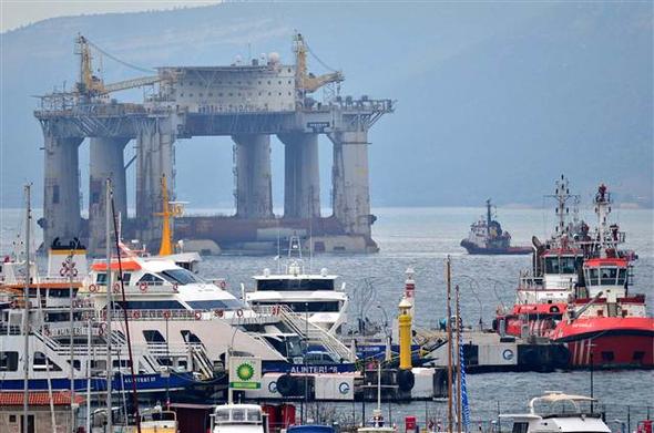 EKTAKTΗ ΕΙΔΗΣΗ – Κρίσιμες ώρες για την ειρήνη: Μετακίνηση πλατφόρμας πετρελαίου από τους Τούρκους- Διασχίζει τώρα το Αιγαίο – Δείτε Βίντεο και εικόνες - Εικόνα6