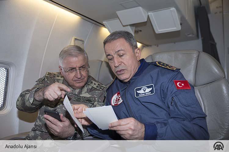 ΕΚΤΑΚΤΟ – Στο Αιγαίο πετάει τώρα η τουρκική στρατιωτική ηγεσία εκτοξεύοντας απειλές – Ο Χ.Ακάρ επανέφερε το δόγμα των 2,5 πολέμων - Εικόνα0