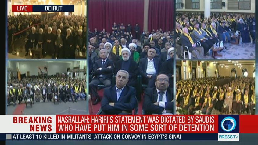 EKTAKTO – Διάγγελμα πολέμου από Χεζμπολάχ: «Η Σαουδική Αραβία μας κήρυξε τον πόλεμο -Απήγαγαν τον Χαρίρι – Υπάρχει συμμαχία με Ισραήλ» – Προ των πυλών η μεγάλη σύρραξη - Εικόνα6