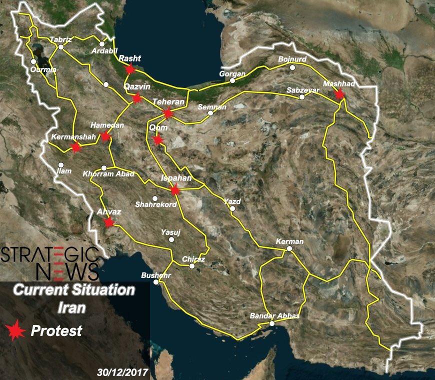 ΕΚΤΑΚΤΟ – Φλέγεται το Ιράν: Σείεται όλη η χώρα – Μάχες σώμα με σώμα – Μεταφέρονται S-300 – Αραβική Άνοιξη και εισβολή - Εικόνα7