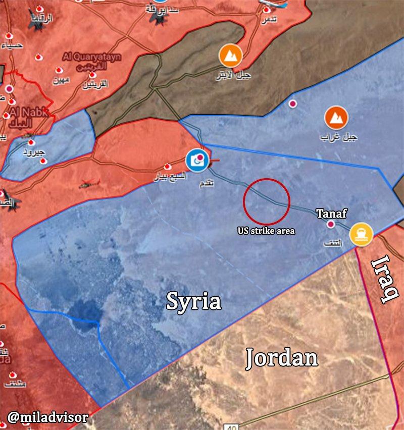 ΕΚΤΑΚΤΟ – Φωτιά και ατσάλι στα σύνορα Συρίας-Ιράκ-Ιορδανίας: Εισβολή βρετανικών-αμερικανικών δυνάμεων και μάχες σώμα με σώμα στο έδαφος με έπαθλο την Deir Ezzor – Aεροπορικές επιδρομές εναντίον του συριακού Στρατού (βίντεο) - Εικόνα0
