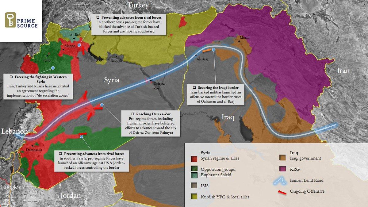 ΕΚΤΑΚΤΟ – Φωτιά και ατσάλι στα σύνορα Συρίας-Ιράκ-Ιορδανίας: Εισβολή βρετανικών-αμερικανικών δυνάμεων και μάχες σώμα με σώμα στο έδαφος με έπαθλο την Deir Ezzor – Aεροπορικές επιδρομές εναντίον του συριακού Στρατού (βίντεο) - Εικόνα1