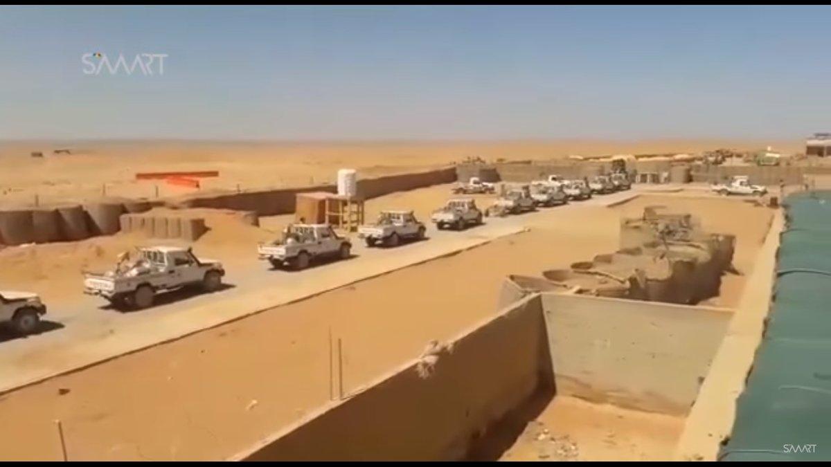 ΕΚΤΑΚΤΟ – Φωτιά και ατσάλι στα σύνορα Συρίας-Ιράκ-Ιορδανίας: Εισβολή βρετανικών-αμερικανικών δυνάμεων και μάχες σώμα με σώμα στο έδαφος με έπαθλο την Deir Ezzor – Aεροπορικές επιδρομές εναντίον του συριακού Στρατού (βίντεο) - Εικόνα19
