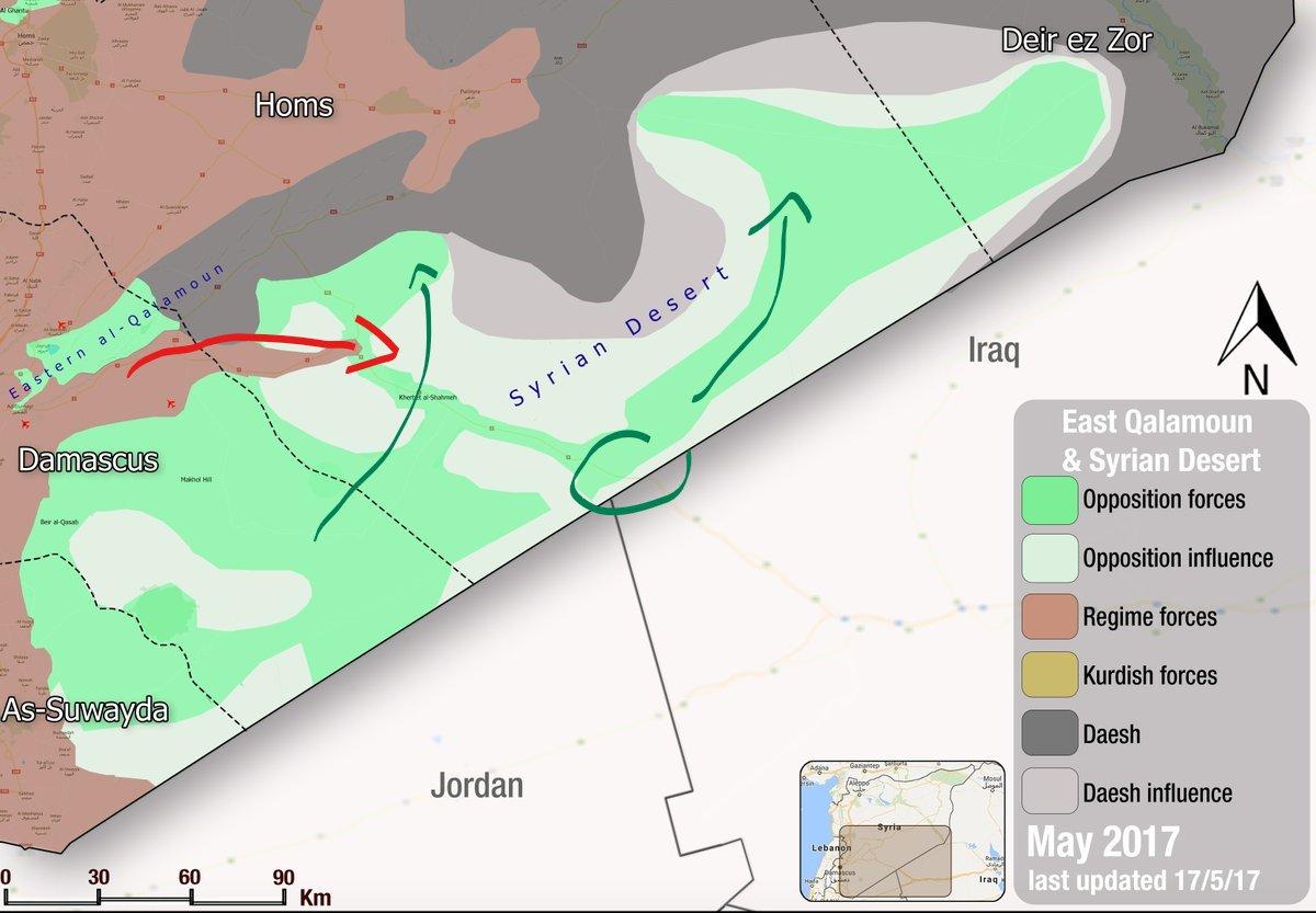 ΕΚΤΑΚΤΟ – Φωτιά και ατσάλι στα σύνορα Συρίας-Ιράκ-Ιορδανίας: Εισβολή βρετανικών-αμερικανικών δυνάμεων και μάχες σώμα με σώμα στο έδαφος με έπαθλο την Deir Ezzor – Aεροπορικές επιδρομές εναντίον του συριακού Στρατού (βίντεο) - Εικόνα2