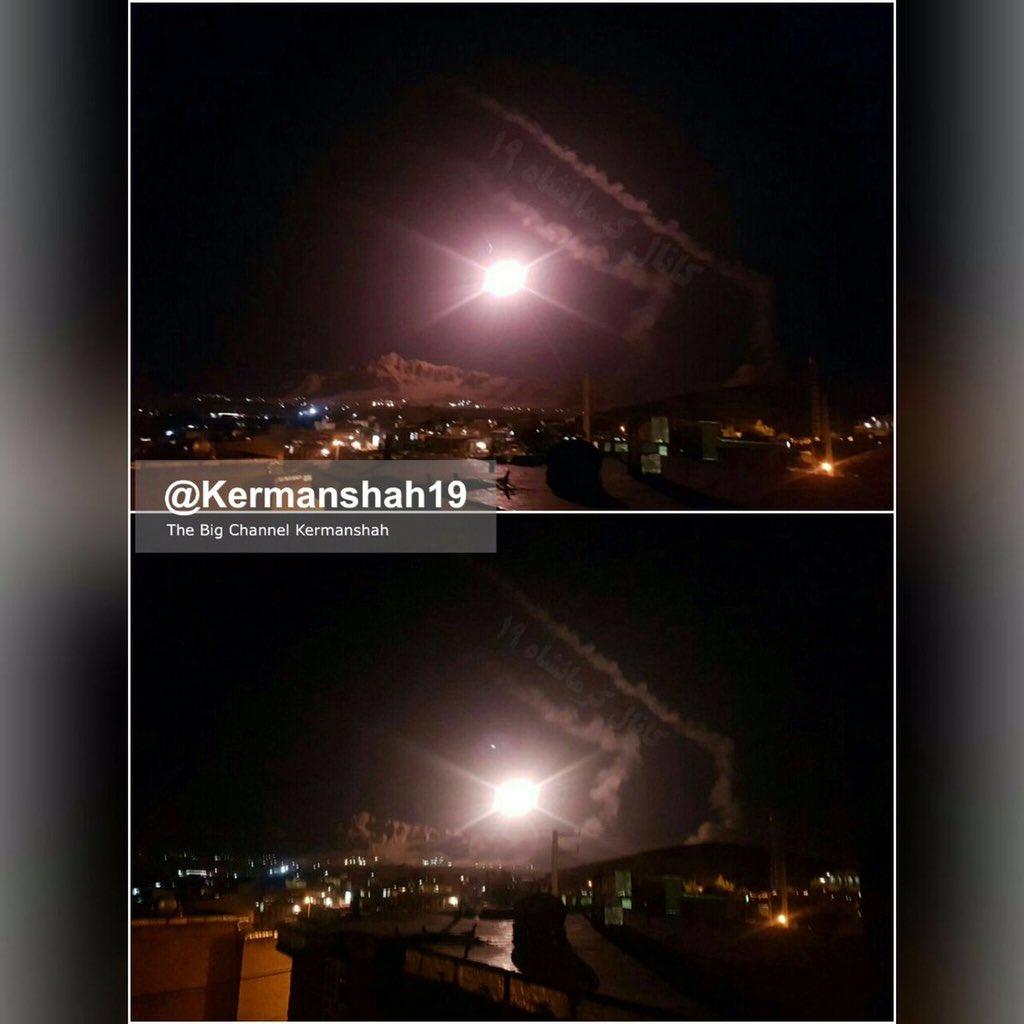 EKTAKTO – To Ιράν εξαπέλυσε ομοβροντία βαλλιστικών πυραύλων προς την Συρία μετά από έγκριση της Μόσχας – Kατέρριψαν μαχητικό οι ΗΠΑ – Δείτε βίντεο - Εικόνα0