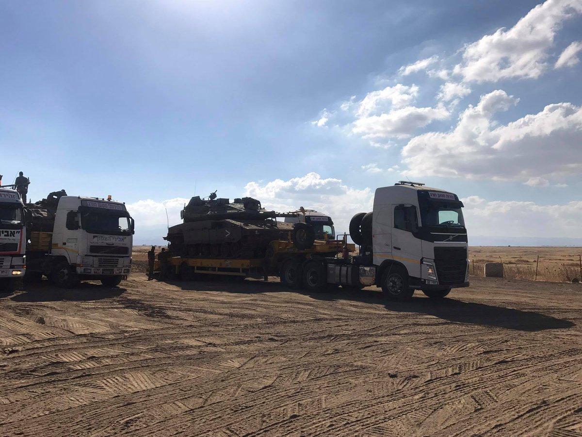 EKTAKTO – Το Ισραήλ μπαίνει Συρία λόγω Ιράν – Iσραηλινά άρματα μάχης Merkava συγκεντρώνονται στα σύνορα – «Ζεσταίνει» τα ρωσικά αντιαρματικά η Χεζμπολάχ (βίντεο) - Εικόνα1